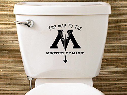 Level WC-Sticker Harry Potter inspiriert Ministry of Magic