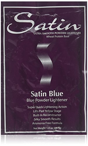 SATIN Satin Blue/bleach Powder Lightener 1 Oz Individual Pack