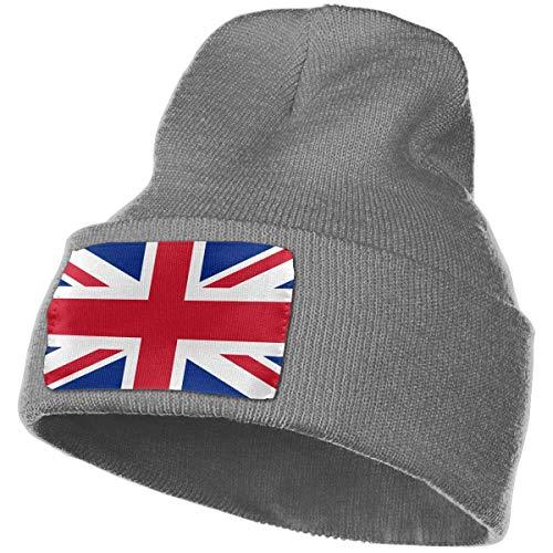 Preisvergleich Produktbild Annays British Flag Men Women Beanies Trendy Warm Chunky Soft Knit Skull Beanie Unisex