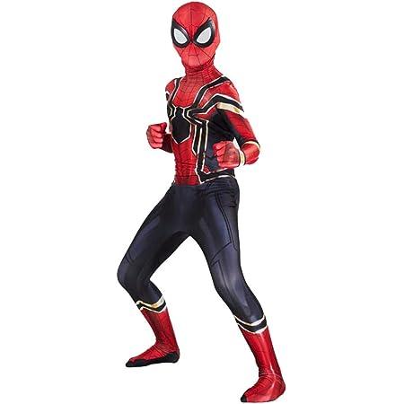 Spiderman 3D Kostüm Karneval Animation Herren Kleid Up Cosplay Kostüm SPM005
