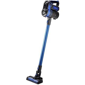 Ufesa AE4625 AE4625-Aspirador Escoba sin Cables, con Mango de Triple Posición, Cepillo Especial Mascotas, Sistema Ciclónico, Múltiples Accesorios, 25.9 W, Plástico, Negro/Azul: Amazon.es: Hogar