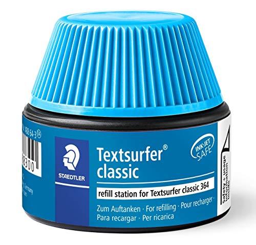 Staedtler 488 64 Textsurfer classic Marker Pen Refills for 364 15�20 x blue