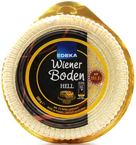 Edeka Wiener Boden hell, 4er Pack (4 x 500g)