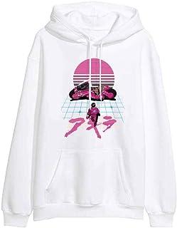 MU-PPX Sudadera con Capucha Anime Invierno Casual Mujer Sudaderas con Capucha Chándal Hip Hop Fitness Sudadera con Capucha