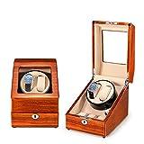 ZNND Watch Carica Orologi Autornatici,Elegante Carica Orologi Girevole, 2+3 Alloggiamenti,con Motore Silenzioso E 5 modalità di Rotazione (Color : B)