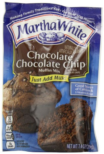 Today's only Martha White Muffin Mix online shop 7.4-Ounce Pac Chocolate Chip
