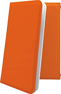 GRANBEAT DP-CMX1(B) ケース 手帳型 オレンジ 無地 グランビート オンキョー オンキョウ 手帳型ケース 橙 橙色 dpcmx1 dp-cmx1 cmx1 だいだいいろ