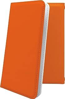 iPhoneXS/iPhoneX ケース 手帳型 オレンジ 無地 アイフォン アイフォン10 エックス テン テンエス 手帳型ケース 橙 橙色 iphone xs x だいだいいろ