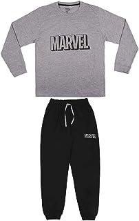 Hombre Pijama Comics-Licencia Oficial Marvel, Gris