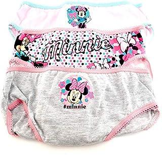 Suncity Braguitas Minnie Mouse Pack 3 uniades. Talla 4-5