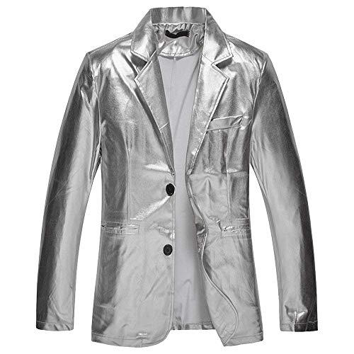 HX fashion Chaqueta De Traje Blazer De Los Hombres Chaqueta De Tamaños Cómodos Slim Fit Blazer Primavera Otoño Fiesta De La Boda Chaqueta De Smoking Elegante Ropa