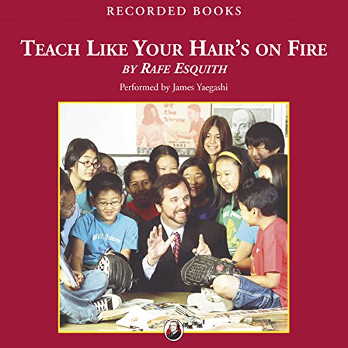 Teach Like Your Hair's On Fire audiobook cover art