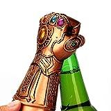 AOLVO Bouteille de bière Opener, Marvel Studios infinity War infinity gauntlet Thanos Gant à bière Bouchon de bouteille de vin Opener, idéal pour les amateurs de pour bar, fête, Bière, Marvel Fans