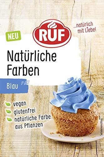 RUF Natürliche Lebensmittelfarbe blau Spirulinaextrakt, 8 g