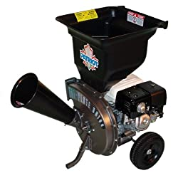 powerful Patriot Products CSV-3090H Honda GX Top Engine Gaswood / Blade Chopper 9HP