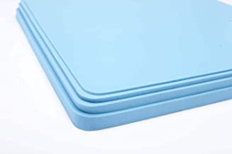 Poron 4000, Royal Blue, 12x54 inch Shock-Absorption, and Friction Reduction. Sheets (1/16)