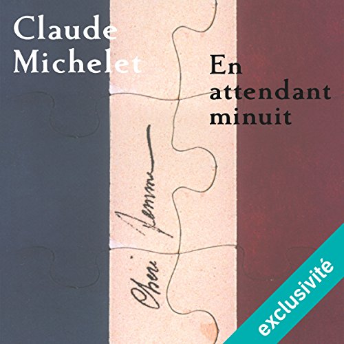En attendant minuit audiobook cover art