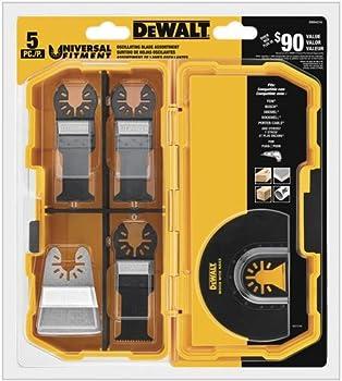 5-Piece DEWALT DWA4216 Oscillating Accessory Kit