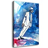 zhangjin Michael Jackson Smooth Criminal Canvas Art Poster and Wall Art Picture Print Modern Family Bedroom Decor Posters