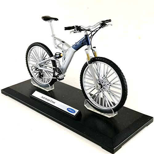 Welly Audi Design Cross 1:10 Scale Bicycle Die-cast Model Toy Hobby Collection Sport Bike Collectible New in Window Box