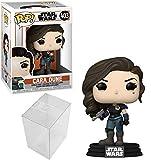 Funko Pop! Star Wars: The Mandalorian - Cara Dune #403 Bundle with 1 PopShield Pop Box Protector