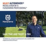 Husqvarna Automower 315X Robotic Lawn Mower 19 Maintain a yard the neighbors will envy with the touch of a button or the Command of your voice; Smart home meets smart lawn with Automower 315x Manage your mower's cutting schedule and track it's exact location with the Automower Connect app and start or stop your mower quickly via voice command using your Alexa or Google Home device Guided by hidden Boundary wires, Automower knows how to smartly maneuver around your yard and when it is time to return to the charging station for a battery recharge