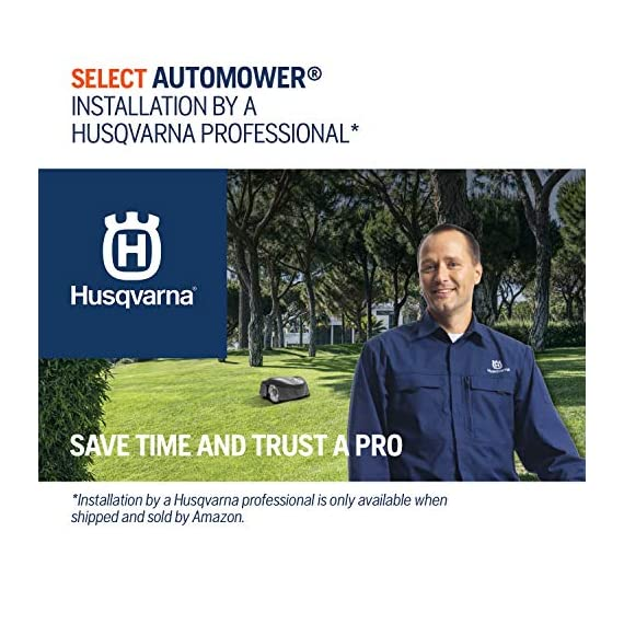 Husqvarna Automower 315X Robotic Lawn Mower 7 Maintain a yard the neighbors will envy with the touch of a button or the Command of your voice; Smart home meets smart lawn with Automower 315x Manage your mower's cutting schedule and track it's exact location with the Automower Connect app and start or stop your mower quickly via voice command using your Alexa or Google Home device Guided by hidden Boundary wires, Automower knows how to smartly maneuver around your yard and when it is time to return to the charging station for a battery recharge