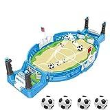 JDYDDSK Mini Tablero de fútbol Arcade Game Game Game Finger Battle Athletic Soccer Juego Power Thot Football Skills Suelo Board Juego para niños Adultos Mesa de fútbol,4 balles,L