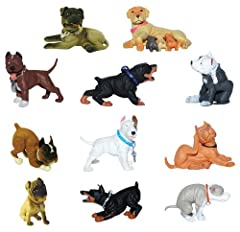 Small figures - approx 1.5 inches tall Great for party prizes or goodie bags Hood Hound Series 2 Set of 12