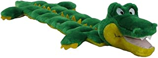 Outward Hound Squeaker Matz Squeaky Dog Toy – Interactive Cuddly Gator Soft Toy for Dogs - Tough & Durable Plush Fluffy Toy for Awesome Pets