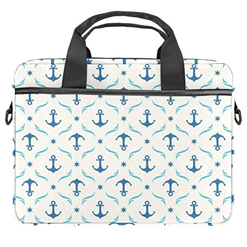 Navigation Laptoptasche Canvas Umhängetasche Handtasche Geeignet Für 15-15.4 Zoll MacBook Air/MacBook Pro/Notebooks 38x28cm