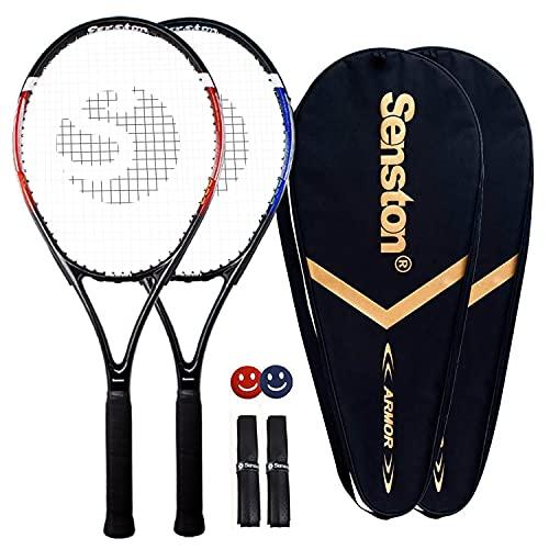Senston Raquettes de Tennis 27'', 2 Raquettes Tennis...