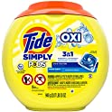 110-Count (2 x 55) Tide Simply Pods +oxi Liquid Laundry Detergent Pacs