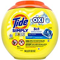 4-Pack of 55-Count Tide Simply Pods +oxi Liquid Laundry Detergent Pacs (Refreshing Breeze)