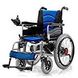 Electric Power Foldable Portable Wheelchair Mobility Aid with Joystick