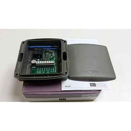 Somfy Standard RTS Receptor. 2 canales 433,42Mhz, 24 Vdc / Vac para todos los controles remotos Somfy RTS. Número de catálogo: 2400556/1841022