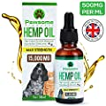 Pawsome Products Hemp Oil for Dogs, Cats & Pets | High Strength 15000mg / 30ml | Rich in Omega 3 & 6 | Stress/Anxiety/Pain Relief, Calming, Supporting Hip & Joint Health | Organic | Made in UK by Pawsome Products®