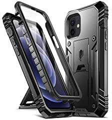 MILITARY GRADE DROP TESTED IPHONE 12 MINI RUGGED CASE - Protects your iPhone 12 Mini 5.4 inch from all angles. Shockproof/ Drop-proof/ Impact resistant/Scratch-proof. SAFE SCREEN PROTECTION - Extra raised lips and corners of the front hard frame prov...