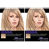 L'Oreal Paris Frost and Design Cap Hair Highlights For Long Hair, Champagne, 2 count