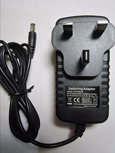 12 V TC Helicon VOICELIVE Play Vocal PROZESSOR AC Adaptor Power SUPABLE Lager