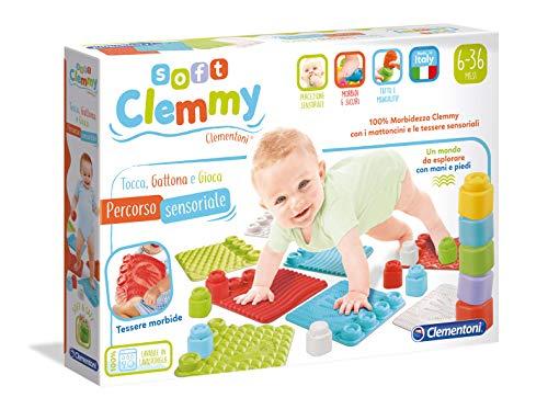 Clementoni 17313 Soft Clemmy Teppich, Katze, Spielzeug, Mehrfarbig