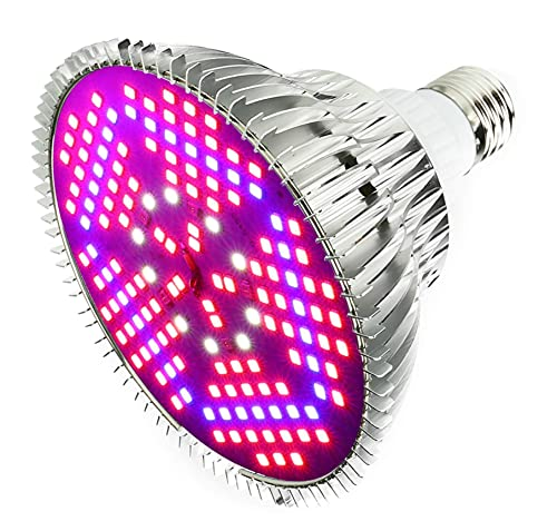 Outcrop Innovations 100w Equivalent Indoor LED Grow Light Bulb for Growing Plants/Vegetables/Flowers - 150 LEDs Full Spectrum PAR with E27 Base for Hydroponics Greenhouses Indoor Gardening