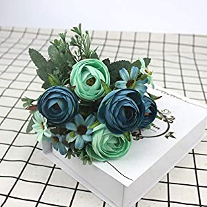 Baby Fan Camellia Artificial Peony Rose Flower Silk Flower Artificial Flower Wedding Flower Home Garden Party Decoration