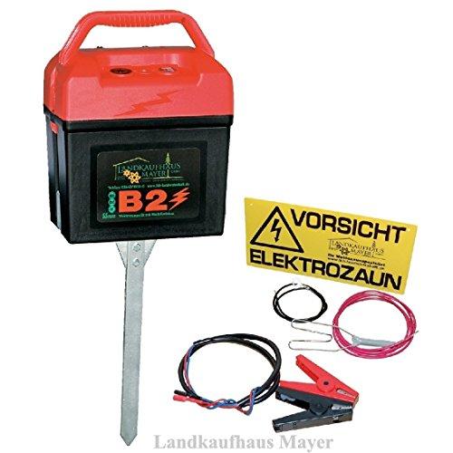 Weidezaungerät mit Multifunktion 9V/12V/230V