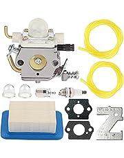 ZAMDOE C1M-K77 Carburateur Vervanging voor Echo PB413H PB413T PB403H PB403T PB620H PB610 PB620 PB400 Bladventilatormotoren, vervangt # C1M-K76 C1M-K49C C1M-K49A, met luchtfilter brandstofleidingen