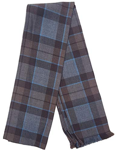 OUTLANDER Scarf Authentic Premium Wool Tartan (MacKenzie)