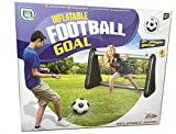 Gameshub Aufblasbares Tor für Fußball Wasserball inklusiv Netz