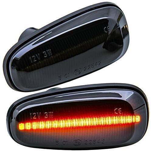 rm-style LED SEITENBLINKER schwarz kompatibel für alle Astra G | Zafira A [71011-1]