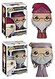 Funko POP! Harry Potter: Albus Dumbledore (School Robes + Elder Wand Figures) - Vinyl Figure Set NEW...