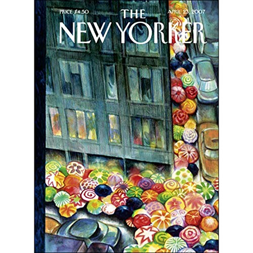 The New Yorker (April 23, 2007) audiobook cover art